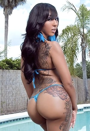 Free Inked Big Ass Porn Pictures